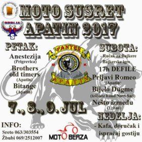 Moto Susret MK Panter 2017.